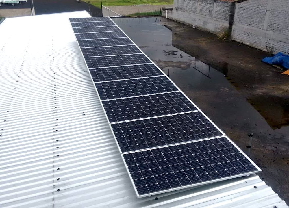 Paneles Solares para Naves Industriales