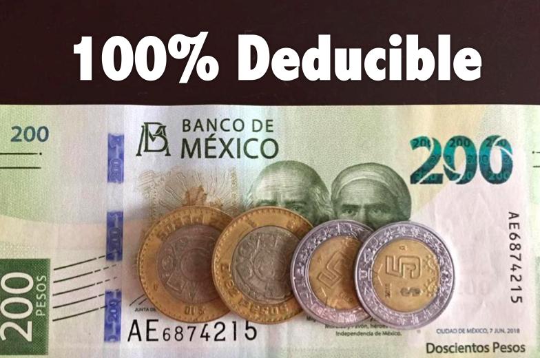 Los Paneles Solares deducibles de Impuestos al 100% en Mexico